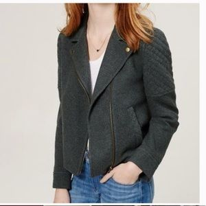 LOFT | Quilted Moto Jacket